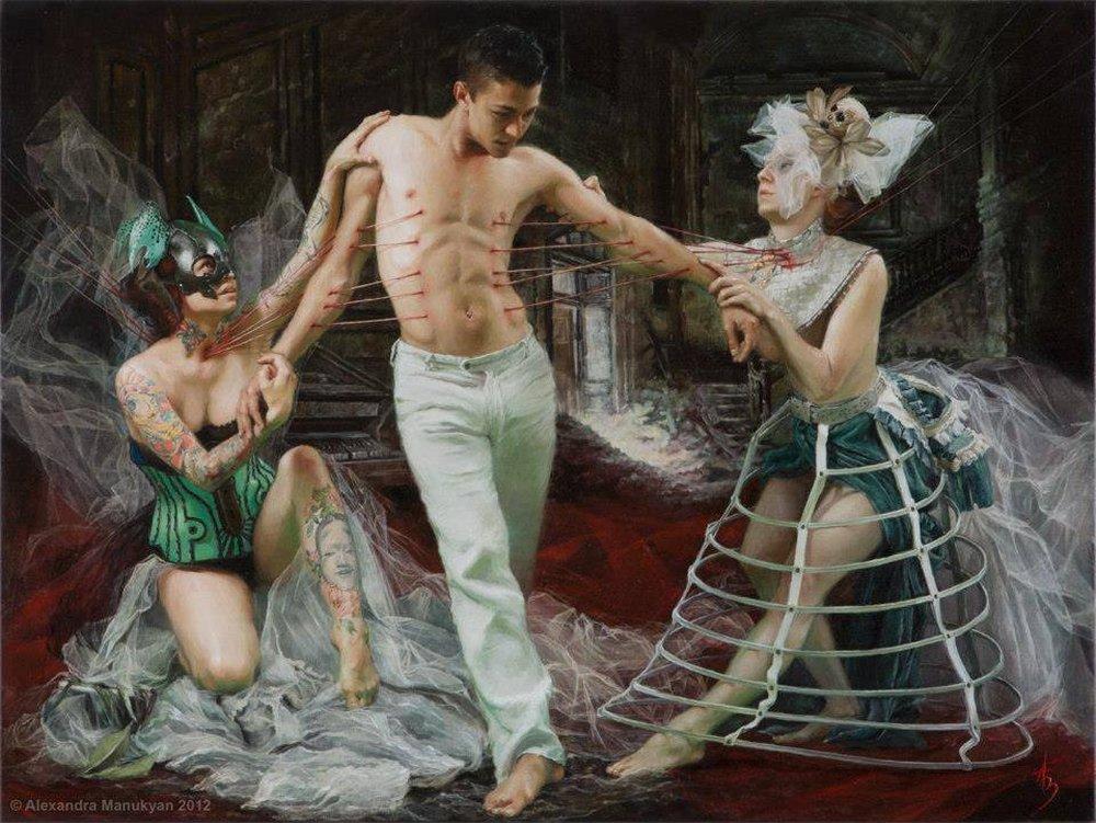 Alexandra Manukyan Paintings Surreal_1b532