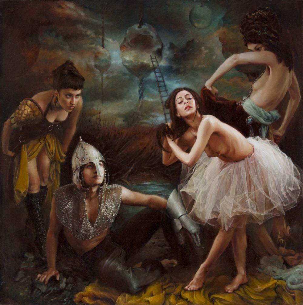 Alexandra Manukyan Paintings Surreal_5e54c