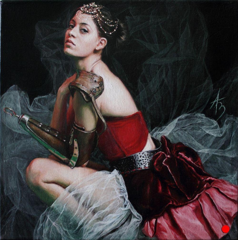Alexandra Manukyan Paintings Surreal_803e7