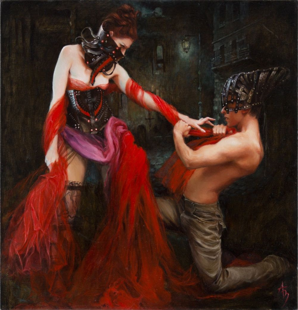 Alexandra Manukyan Paintings Surreal_b1276
