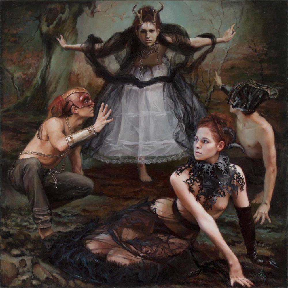 Alexandra Manukyan Paintings Surreal_c48a3