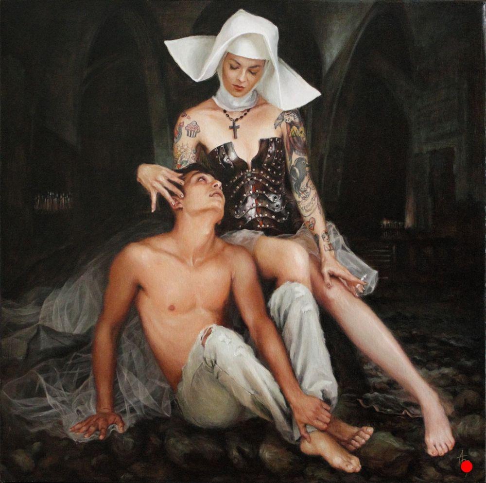 Alexandra Manukyan Paintings Surreal_c51b7