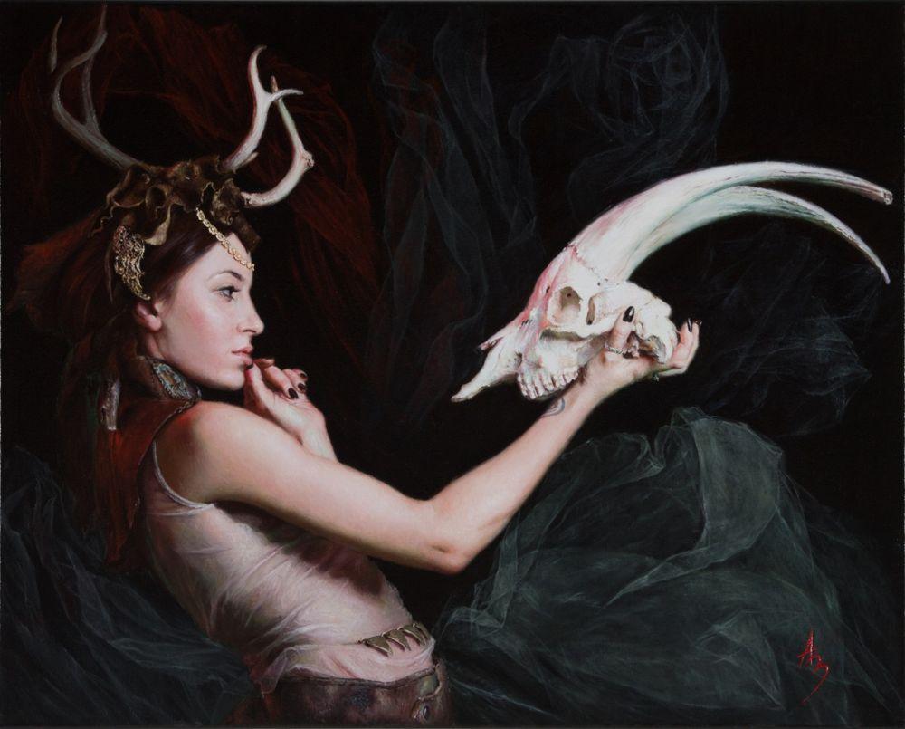Alexandra Manukyan Paintings Surreal_e20a2