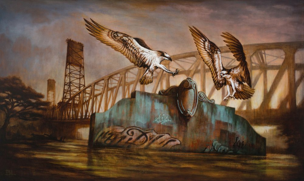 Brin Levinson Paintings - Remnants Angels