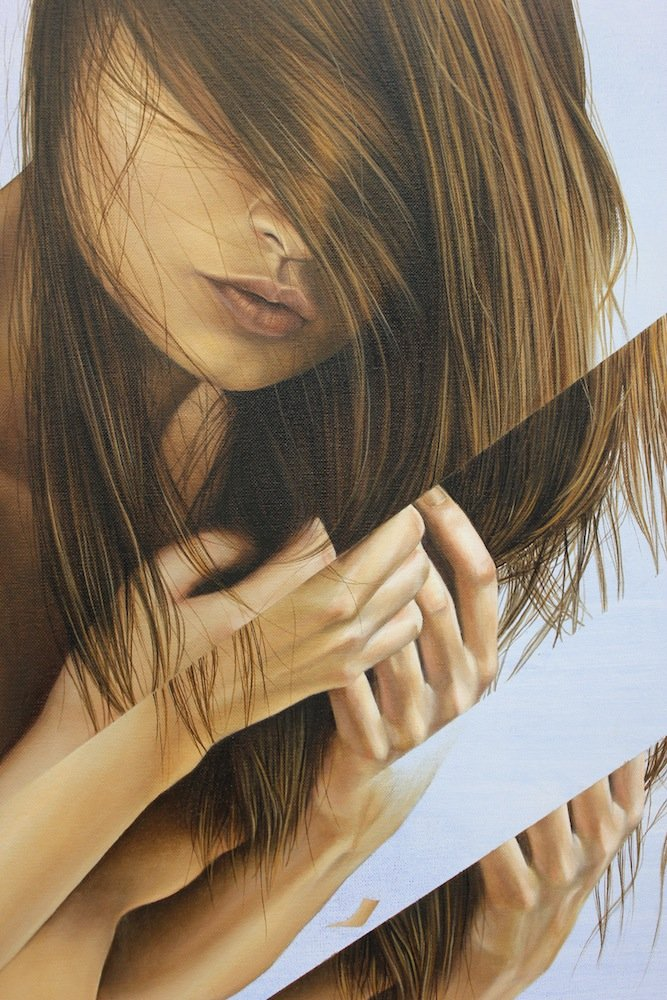 The Hyper-realistic Paintings Of James Bullough — Depicting Beauty, Sensuality And Mystery