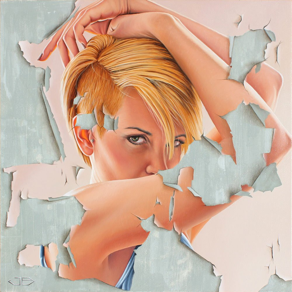 James Bullough Paintings_From-Behind-the-Wreckage