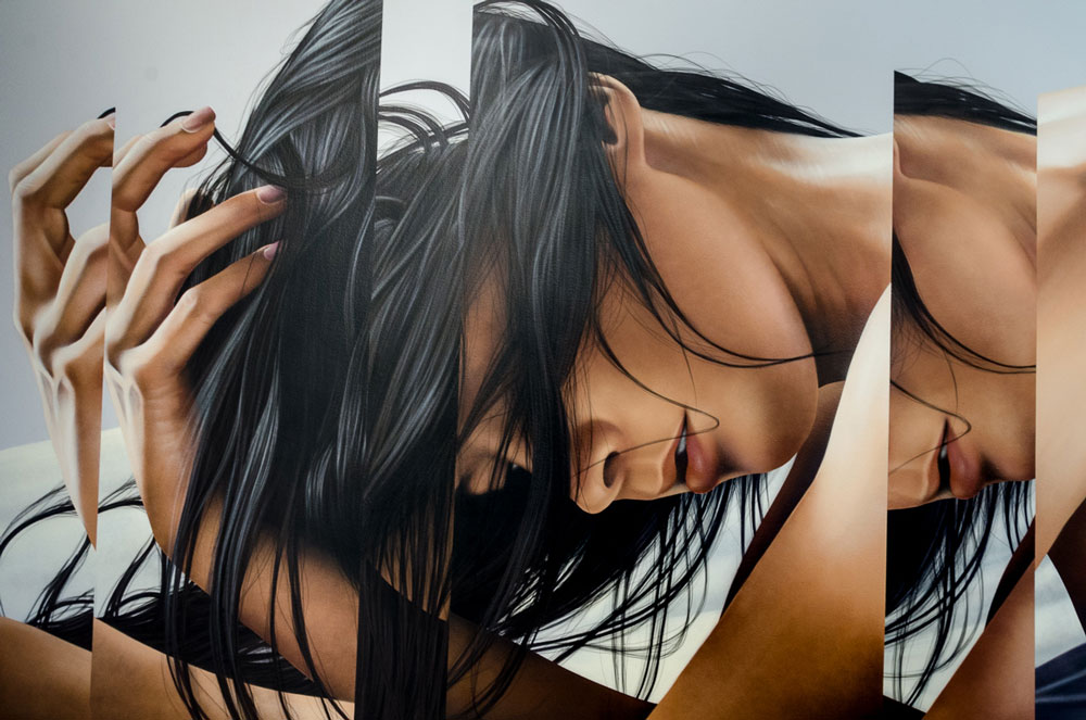 James Bullough Paintings_IntoTheEther-details