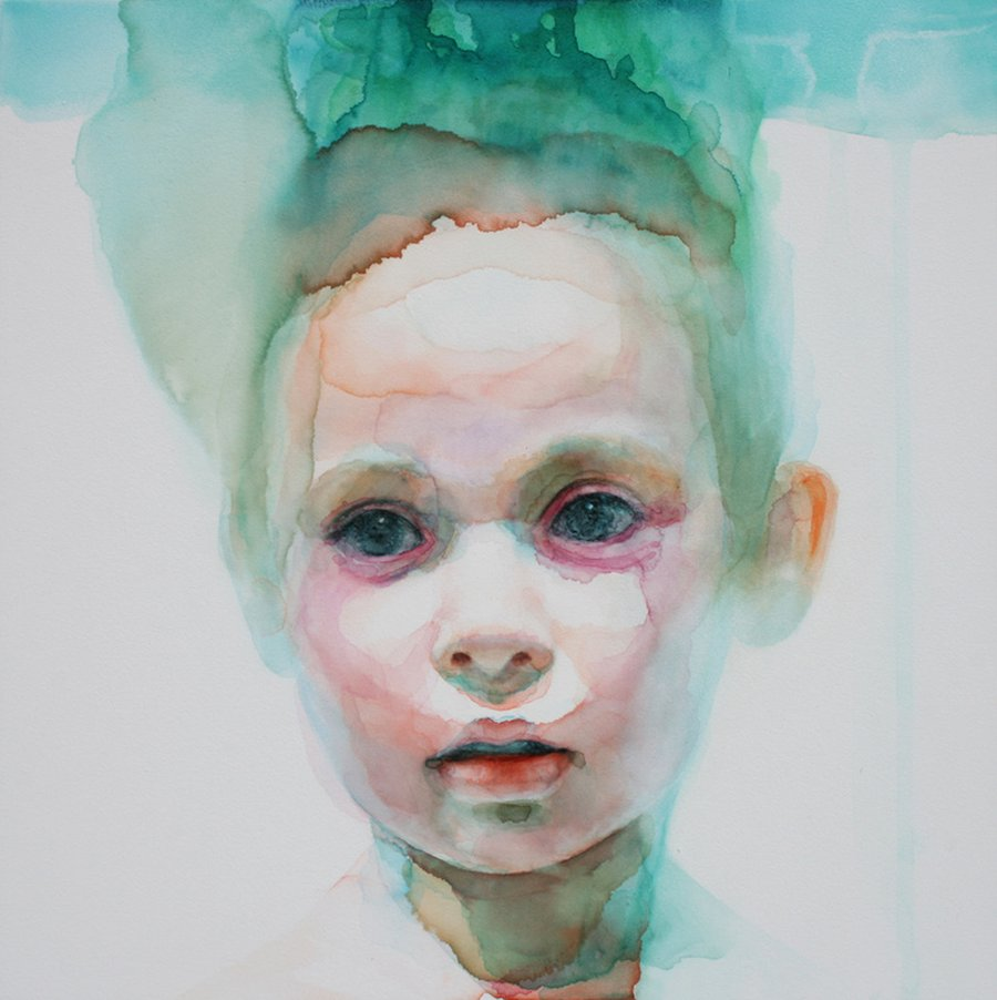 Ali Cavanaugh_Watercolor Portraits-essence-regret