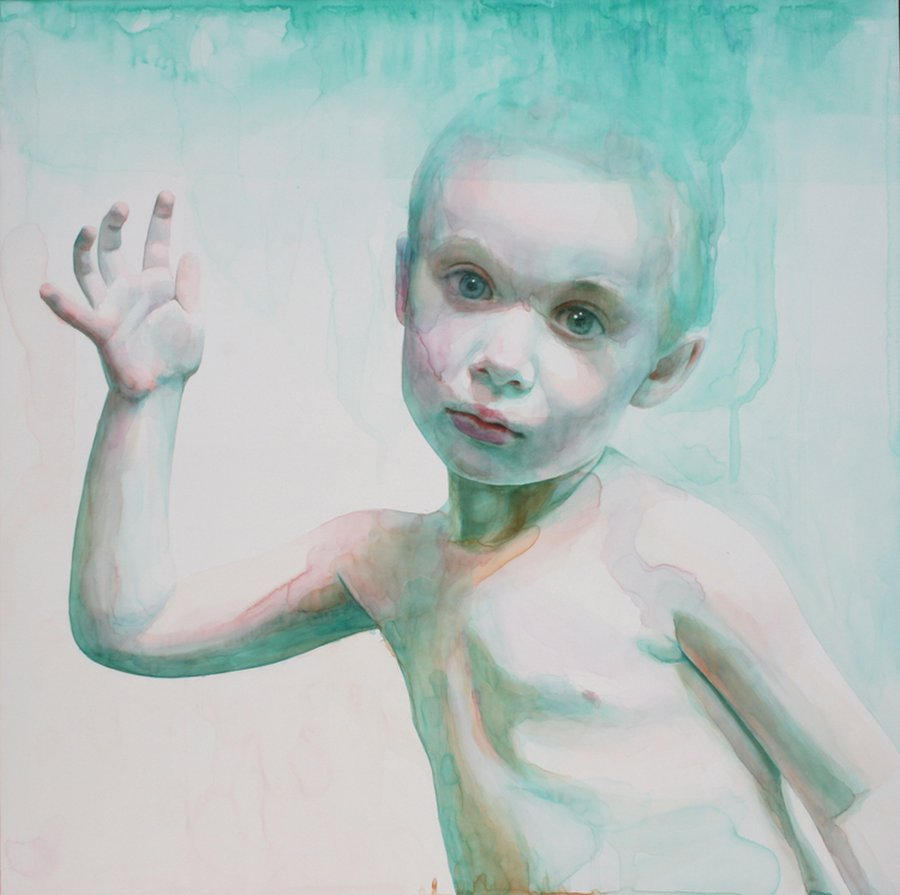 Ali Cavanaugh_Watercolor Portraits-hold-spellbound