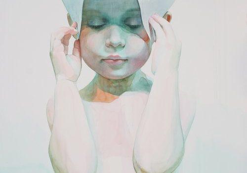 Ali Cavanaugh Watercolor Portraits Intersession