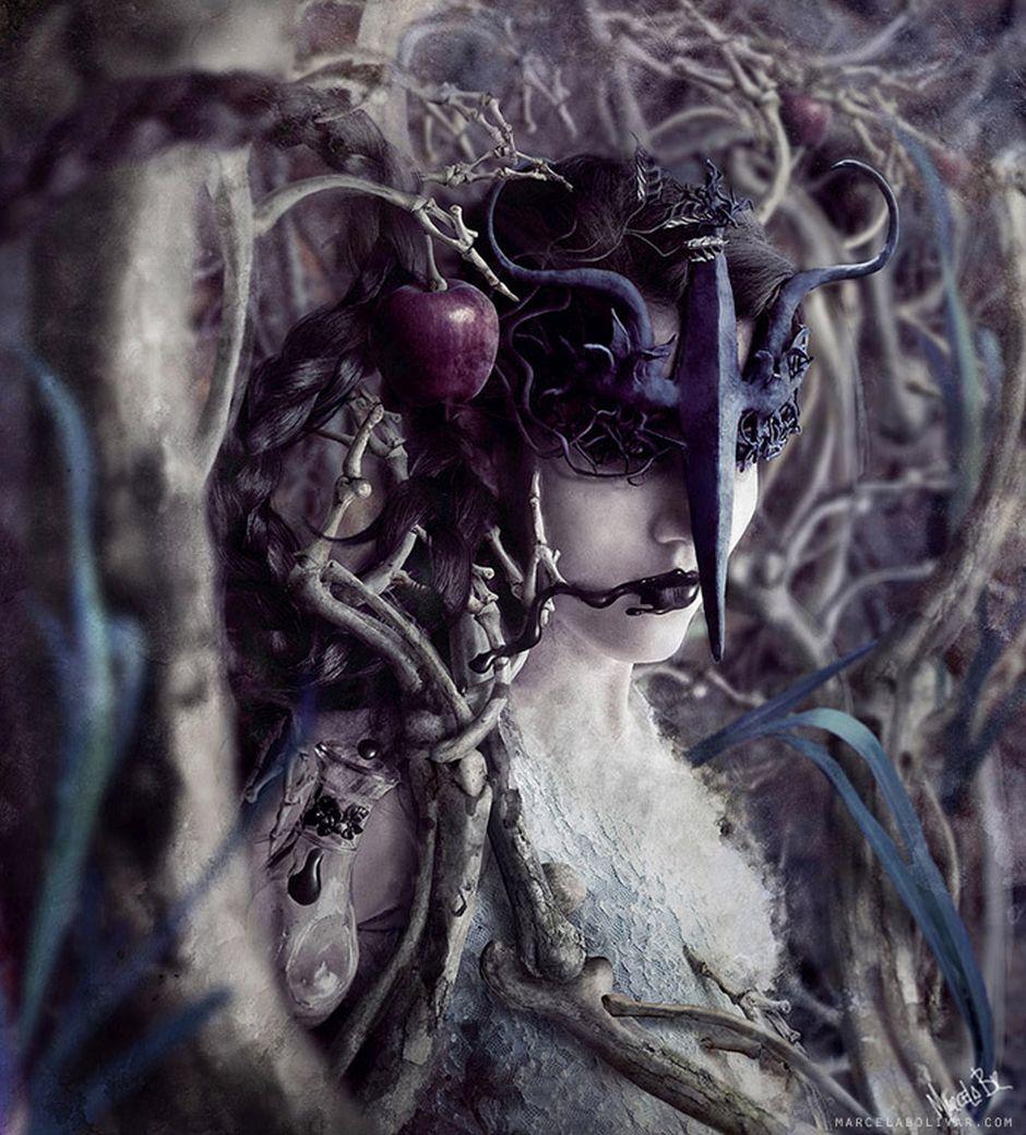 Marcela Bolivar photo illustrations_mercury2