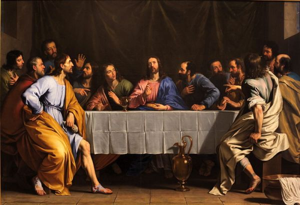 The Last Supper by Philippe_de_Champaigne