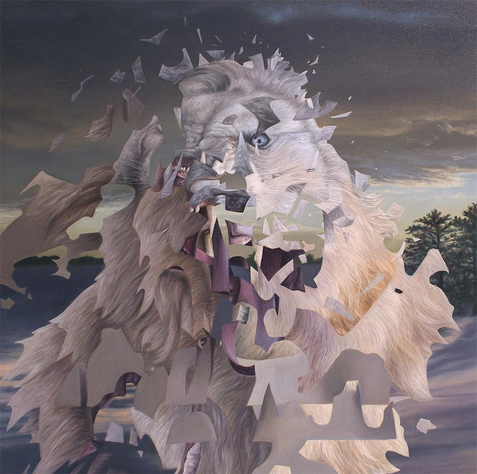 Angela Gram Paintings - whitelion
