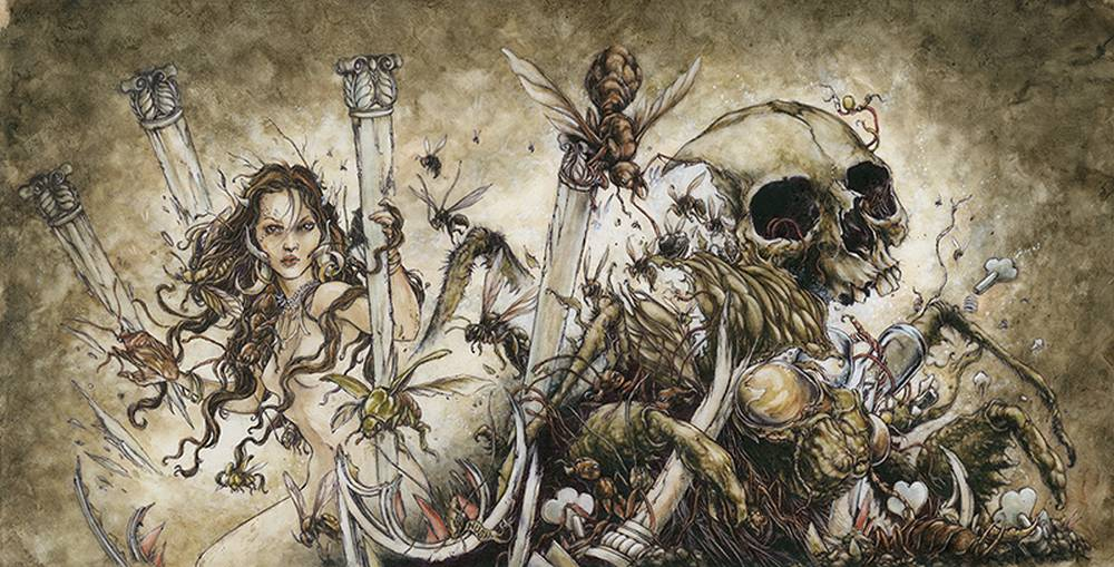 the fairy tale illustrations of jeremy hush