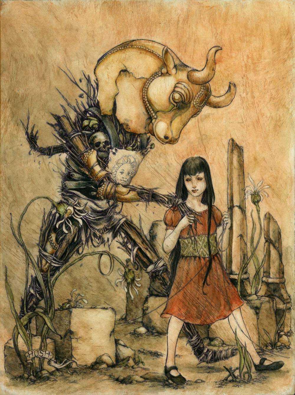 Jeremy hush - Illustrations-Minotaurprisma