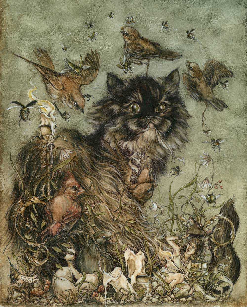 Jeremy hush - Illustrations-themischeiviousandthewayward