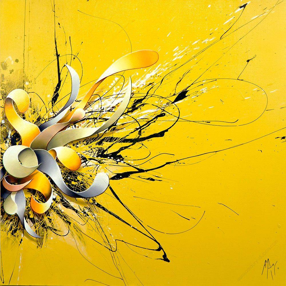 Amaury Dubois Abstract Painting_here-i-am