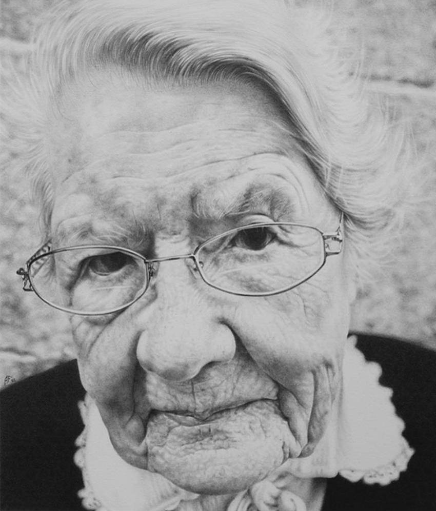 Antonio Finelli Realistic Pencil Drawings - A369ohy