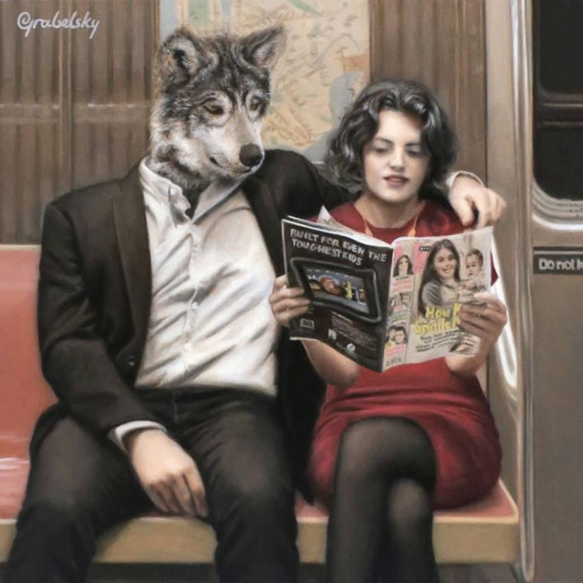 Matthew Grabelsky Paintings - Subway 578lo