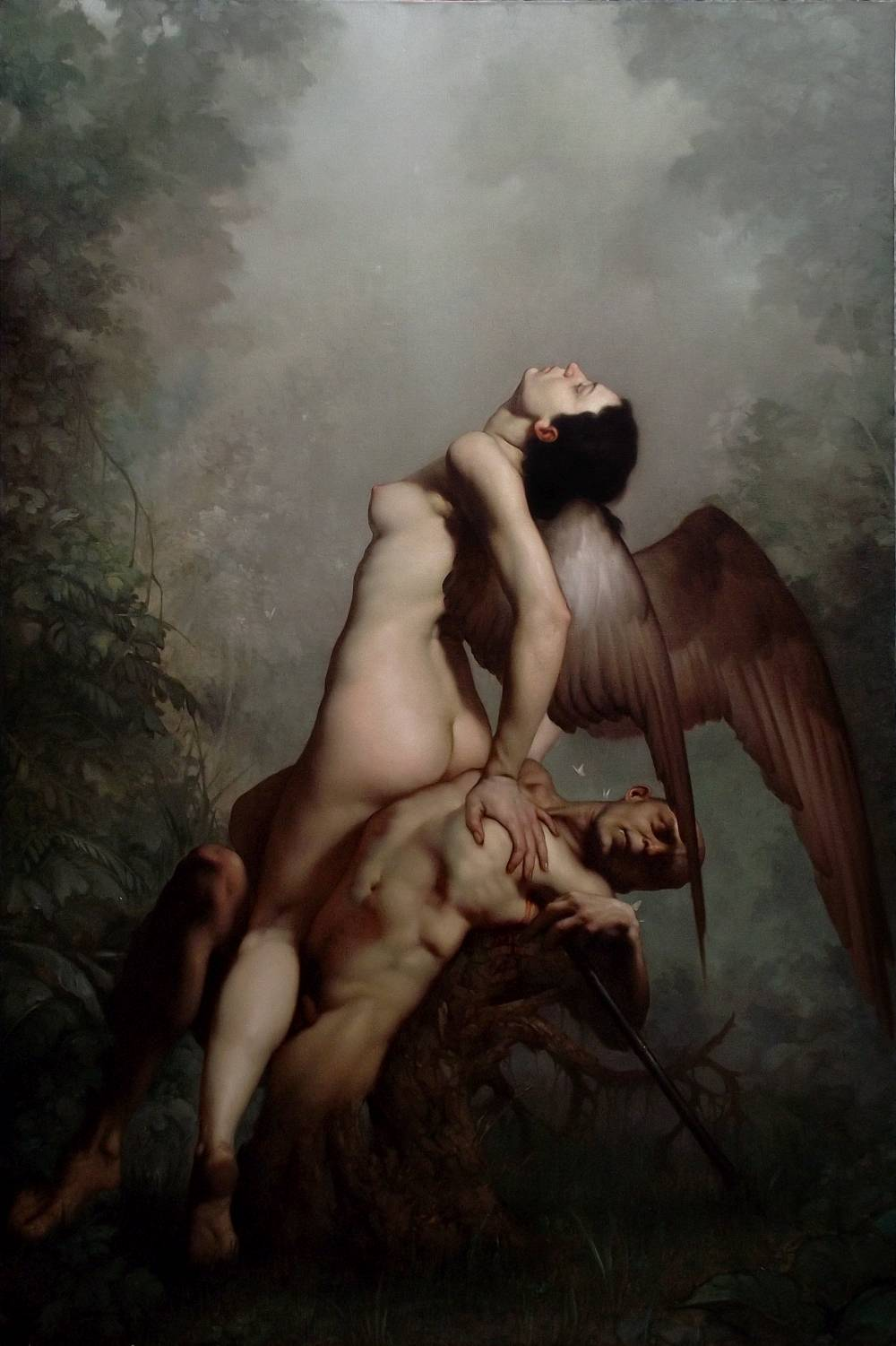 Roberto Ferri Paintings_ANIMA MUNDI olio su tela ....