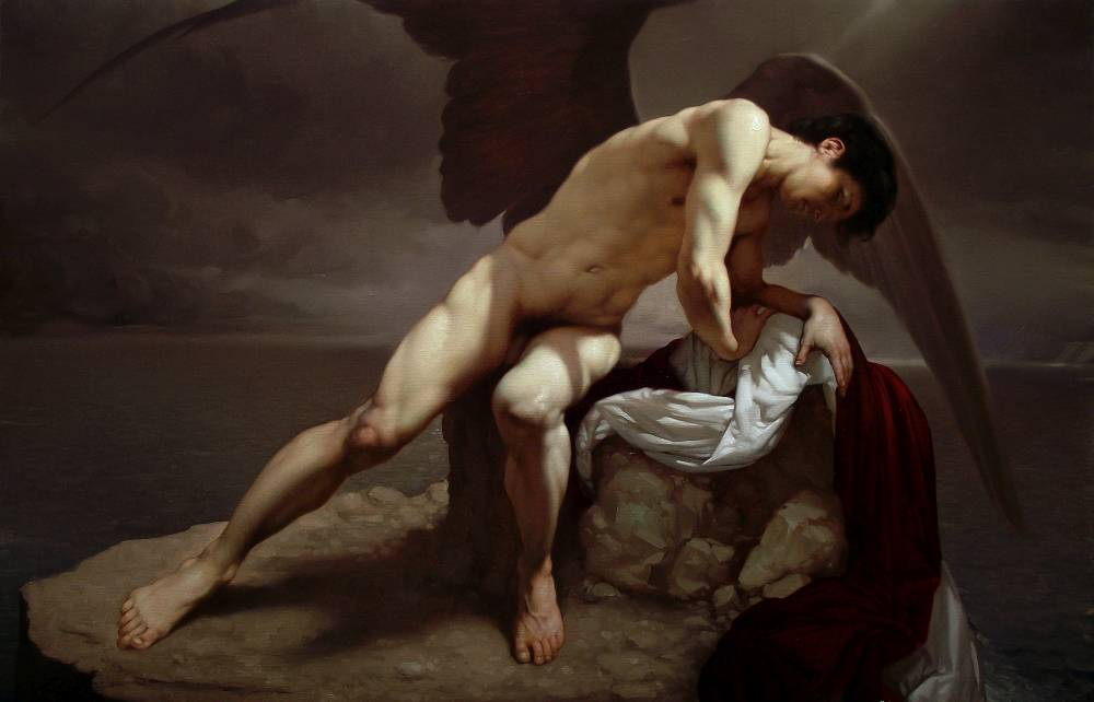 Roberto Ferri Paintings_SOFFIO IMPURO