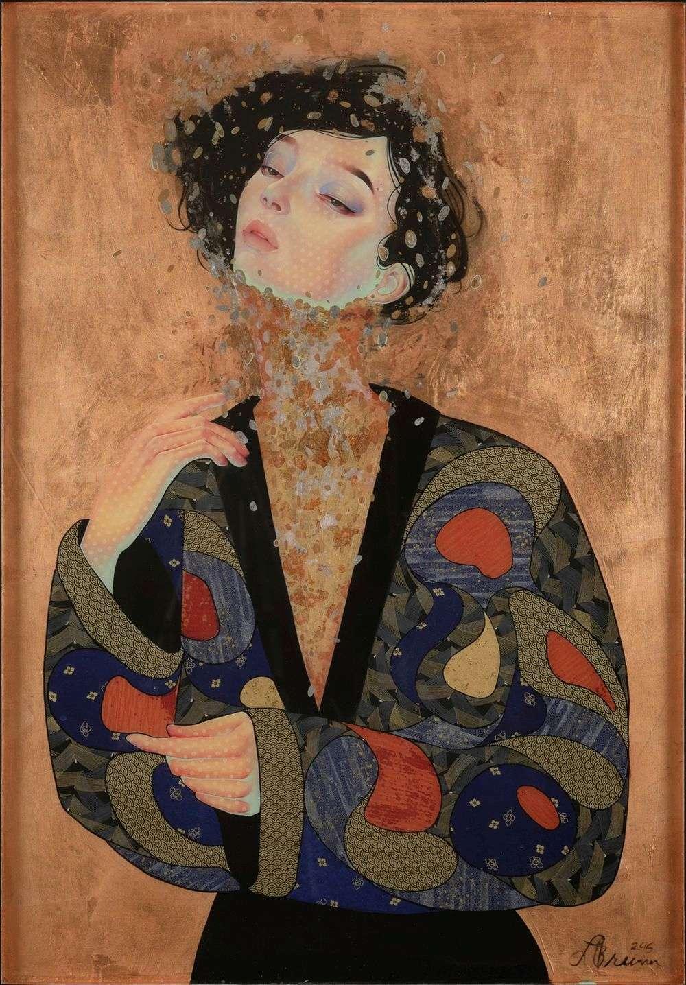Lauren Brevner-Painting-Kishi Kaisei