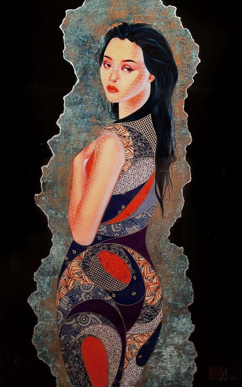 Lauren Brevner-Painting-Renge