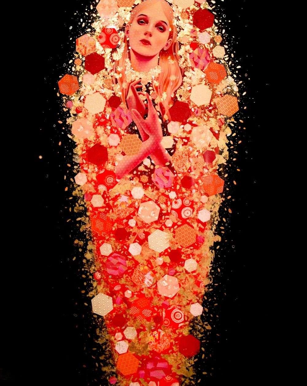 Lauren Brevner-Painting-Tsubaki