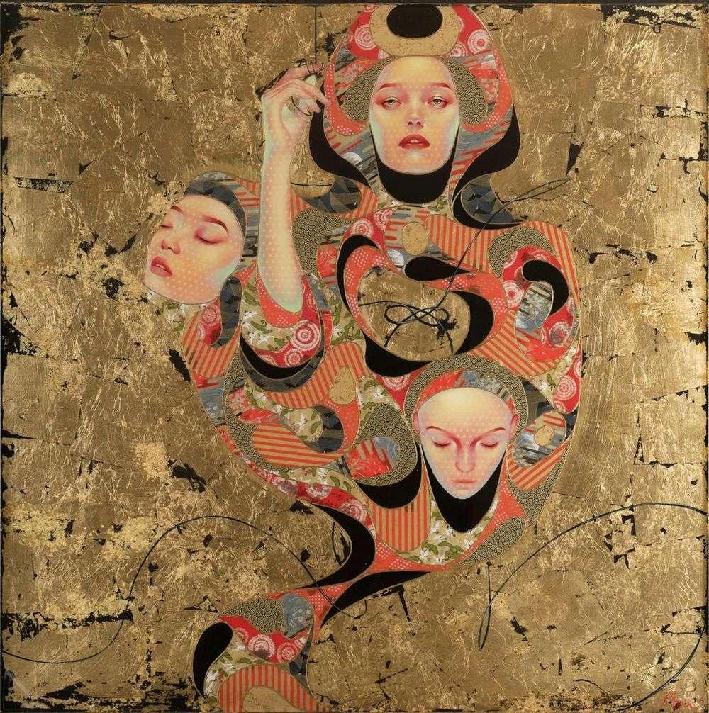 Lauren Brevner-Painting-Tsunagaru