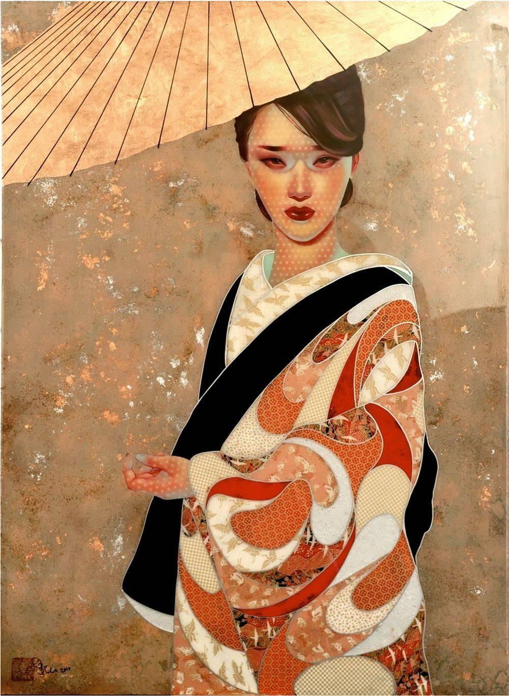 Lauren Brevner-Painting-kiku