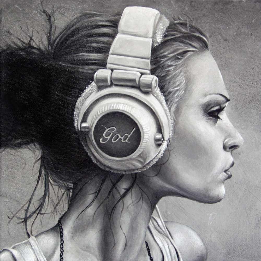 Brent Schreiber Paintings Drawings_Listen_458369