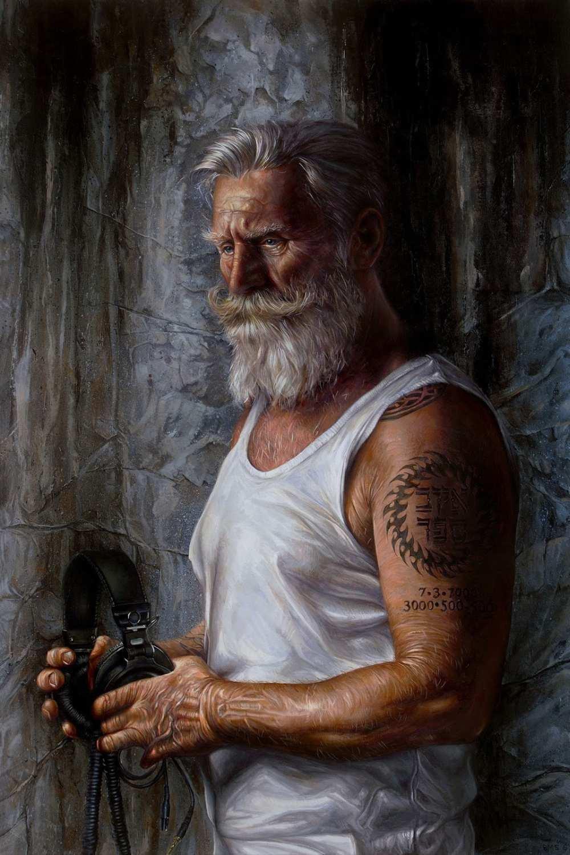 Brent Schreiber Paintings Drawings_Listen_472636