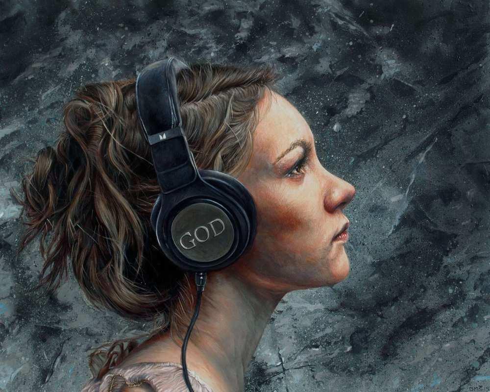 Brent Schreiber Paintings Drawings_Listen_896521