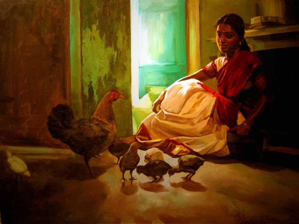 S. ELAYARAJA Paintings 1034