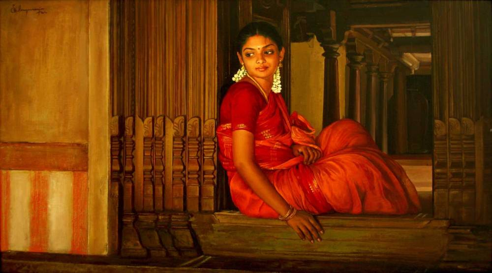 S. ELAYARAJA Paintings 356
