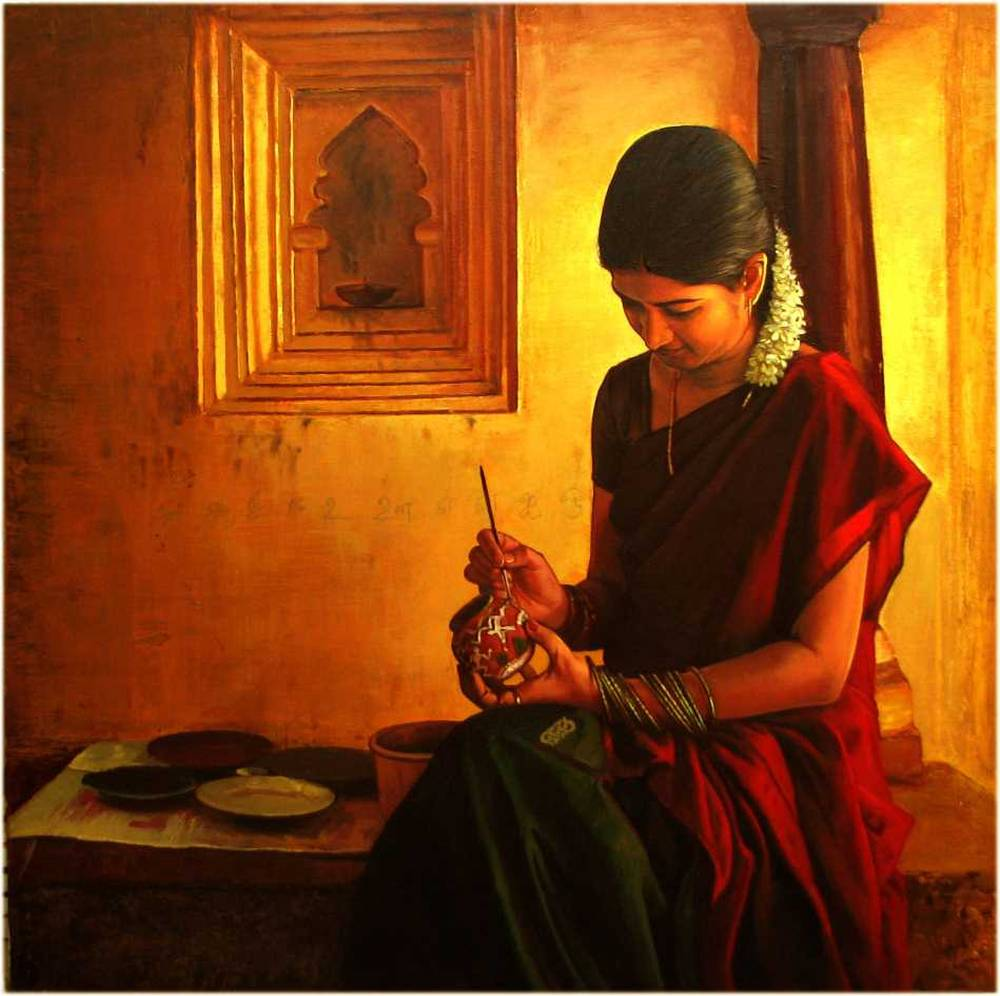 S. ELAYARAJA Paintings 456