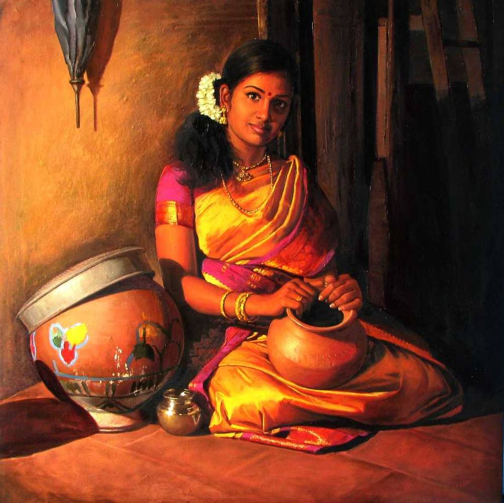 S. ELAYARAJA Paintings 634