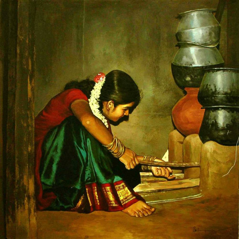 S. ELAYARAJA Paintings 812