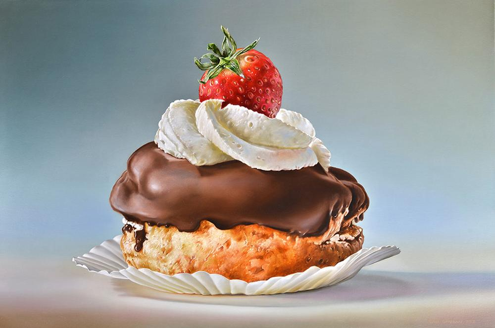 Tjalf Sparnaay-Pastry-with-Strawberry_2012