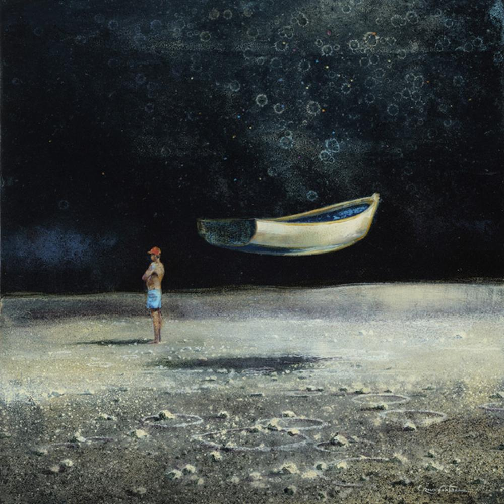 Eric Roux-Fontaine Paintings-La-grande-maree