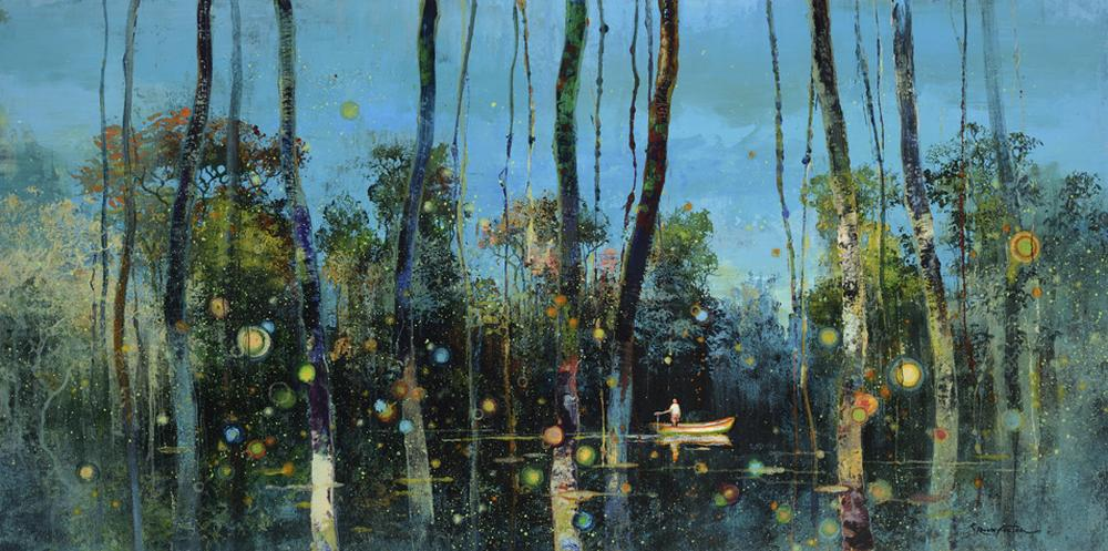Eric Roux-Fontaine Paintings-Voodoo-swamps