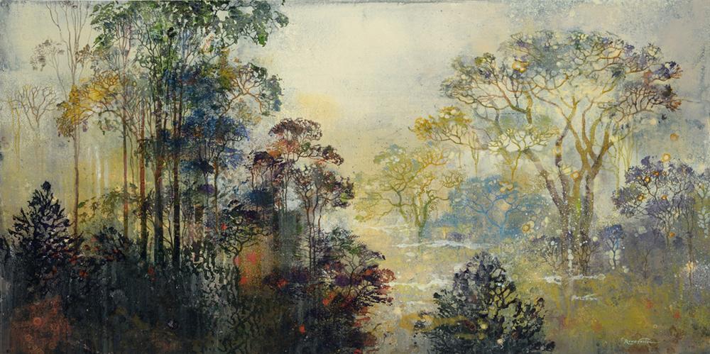 Eric Roux-Fontaine Paintings-le-jardin-premier