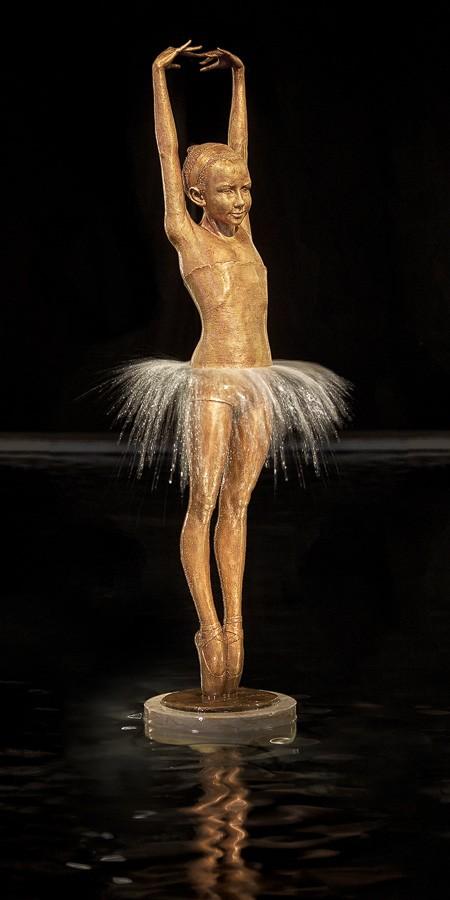 Malgorzata Chodakowska Creates Bronze Fountain Sculptures — Capturing The Beauty And Grace Of A Woman