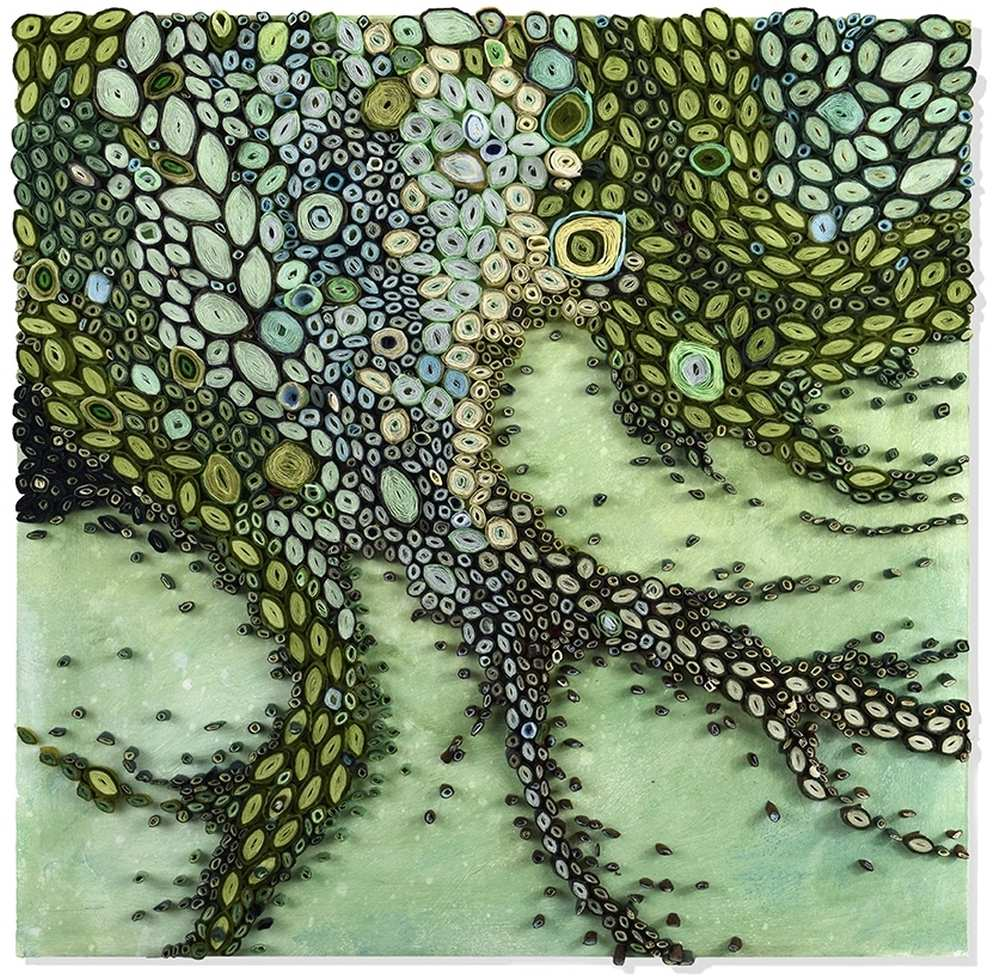 amy-genser-paper-sculpture-moss-tentacles