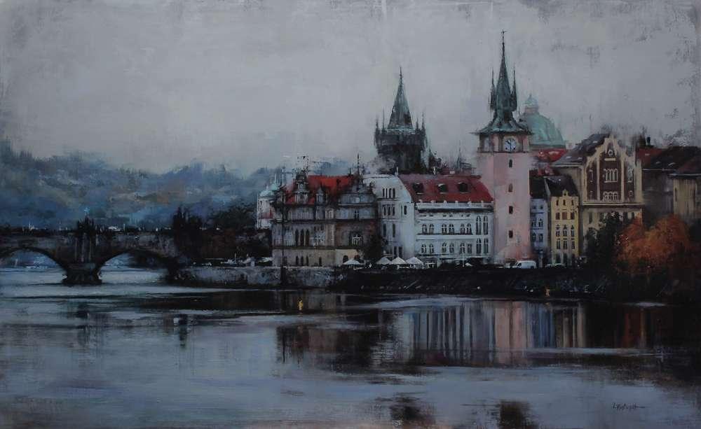 lindsey-kustusch-paintings_towers-of-mala-strana