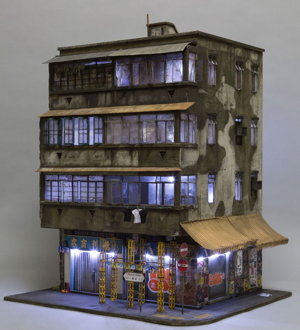 Joshua Smith's Miniature Buildings — Capturing The Drab Urban Landscapes