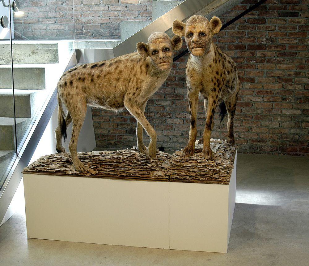 Kate Clark Sculpture - A-Small-Disturbance