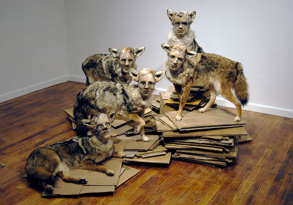 Kate Clark Sculpture - Pack
