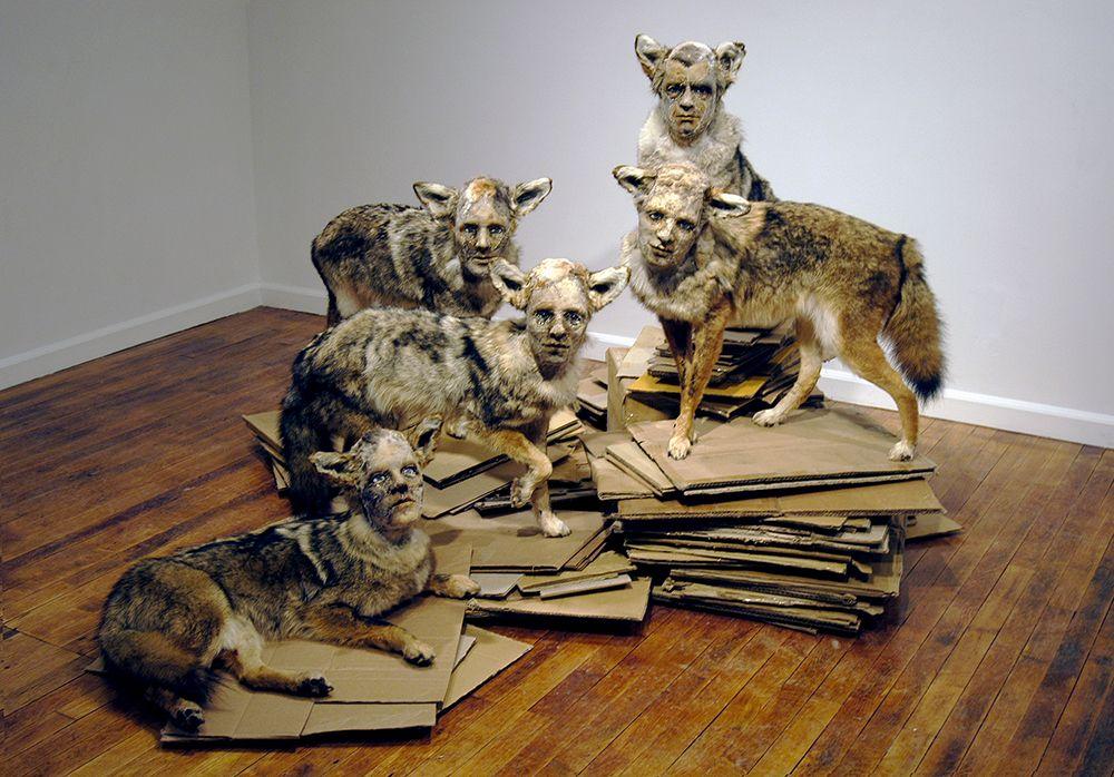 Kate Clark Sculpture - Pack