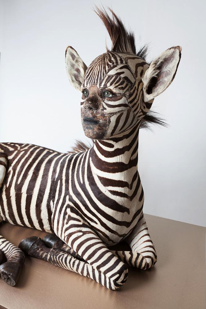 The Human-Animal Hybrid Sculptures Of Kate Clark  —  Beautiful Yet Disturbing Lifelike Artworks